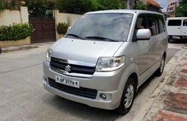 Silver 2017 Suzuki Apv for sale in Quezon City