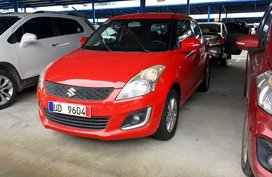 Red 2016 Suzuki Swift Hatchback for sale in Quezon City