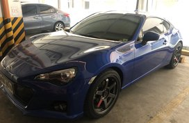 Blue Subaru Brz 2016 at 3901 km for sale