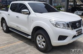 White 2019 Nissan Navara at 2000 km for sale in Mandaue