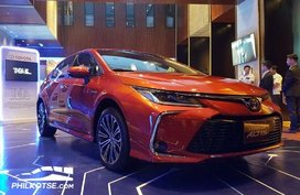 Toyota Motors Philippines officially unveils the Toyota Corolla Altis 2020