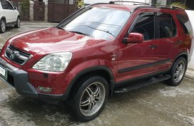 Red Honda Cr-V 2003 for sale in Quezon City