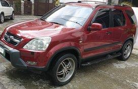 Red Honda Cr-V 2003 for sale in Quezon City
