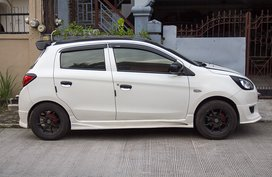 Selling Used Mitsubishi Mirage 2013 Hatchback at 42000 km