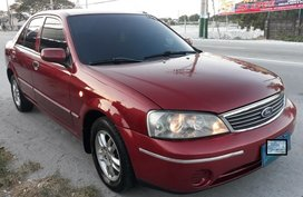 Selling Red Ford Lynx 2005 Automatic Gasoline