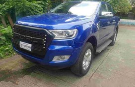 Sell Blue 2016 Ford Ranger in Mandaluyong