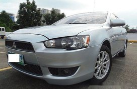 Sell Silver 2010 Mitsubishi Lancer Ex Manual Gasoline at 42000 km