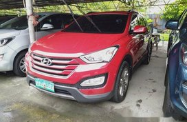 Selling Red Hyundai Santa Fe 2013 Automatic Diesel