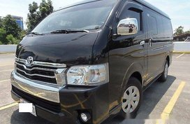 Black Toyota Hiace 2016 at 32000 km for sale