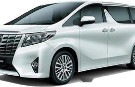 White Toyota Alphard 2019 for sale in Ilocos Norte