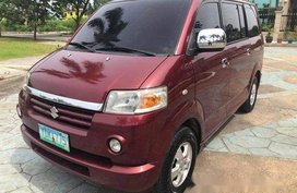 Selling Red Suzuki Apv 2006 Automatic Gasoline