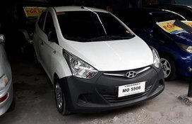 White Hyundai Eon 2015 Manual Gasoline for sale in Antipolo