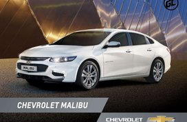 White Chevrolet Malibu 2019 Sedan for sale