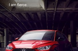 Red 2019 Hyundai Veloster for sale in Quezon City