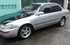 Selling Silver Toyota Corolla 1993 at 90000 km