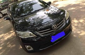 Selling Black Toyota Altis 2011 at 60000 km