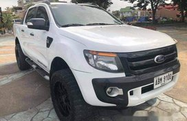 White Ford Ranger 2015 Manual Diesel for sale