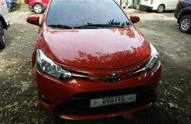 Orange Toyota Vios 2018 for sale in Quezon City