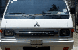 White 2016 Mitsubishi L300 Van Manual Diesel for sale