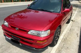 Red 1996 Toyota Corolla Manual for sale in Lipa