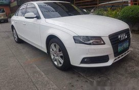 Sell White 2012 Audi A4 Automatic Diesel at 22000 km