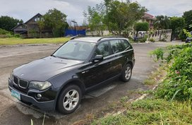 Selling Black Bmw X3 2008 Automatic Diesel in Metro Manila