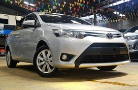 Silver 2017 Toyota Vios at 14000 km for sale in Quezon City