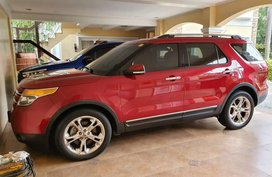 Sell Red 2013 Ford Explorer at 17000 km in Antipolo