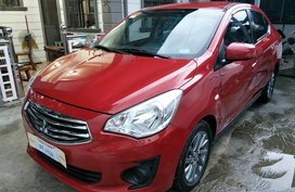 Selling Red Mitsubishi Mirage G4 2017 at 5000 km in Baliwag