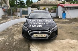 Black 2018 Hyundai Elantra at 3600 km for sale in Imus