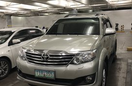 2nd Hand 2012 Toyota Fortuner Automatic Gasoline for sale