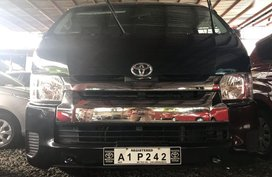 Black Toyota Grandia 2018 for sale in Quezon City