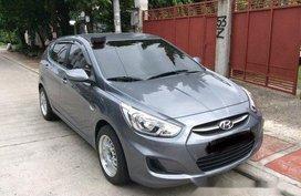 Sell Grey 2017 Hyundai Accent at 10000 km