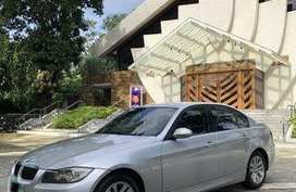 Silver Bmw 320I 2006 Automatic Gasoline for sale