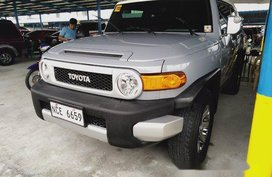 Selling Silver Toyota Fj Cruiser 2016 in Makati
