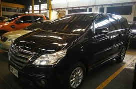 Black Toyota Innova 2015 for sale in Quezon City