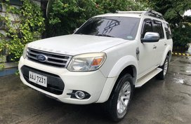 White 2014 Ford Everest at 47000 km for sale
