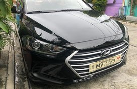 Black 2018 Hyundai Elantra for sale in Cavite
