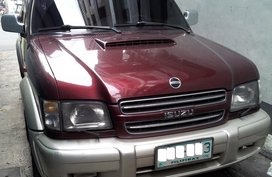 Red 2001 Isuzu Trooper Automatic Diesel for sale