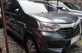 Grey Toyota Avanza 2018 Manual Gasoline for sale