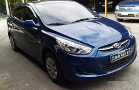 Selling Blue Hyundai Accent 2017 Automatic Gasoline