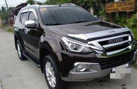 Brown Isuzu Mu-X 2018 Automatic Diesel for sale