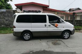 Sell White 2002 Hyundai Starex Manual Diesel