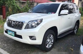 Selling White Toyota Land Cruiser Prado 2012 Automatic Gasoline at 58000 km