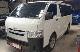 Sell White 2019 Toyota Hiace in Quezon City
