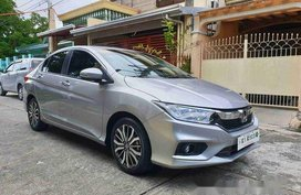 Selling Silver Honda City 2019 Automatic Gasoline