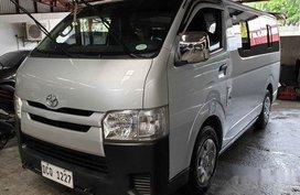 Selling Silver Toyota Hiace 2017 Manual Diesel