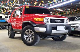 Red 2016 Toyota Fj Cruiser at 8000 km for sale in Quezon City