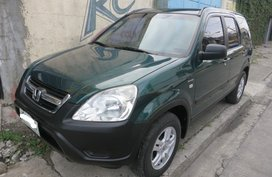 Selling Green 2003 Honda CRV Automatic Transmission in Makati