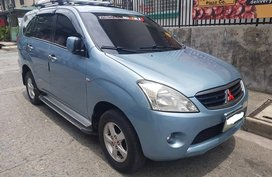 Silver 2009 Mitsubishi Fuzion GLX for sale in Makati
